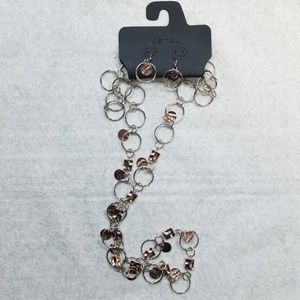METAL  Jewelry set